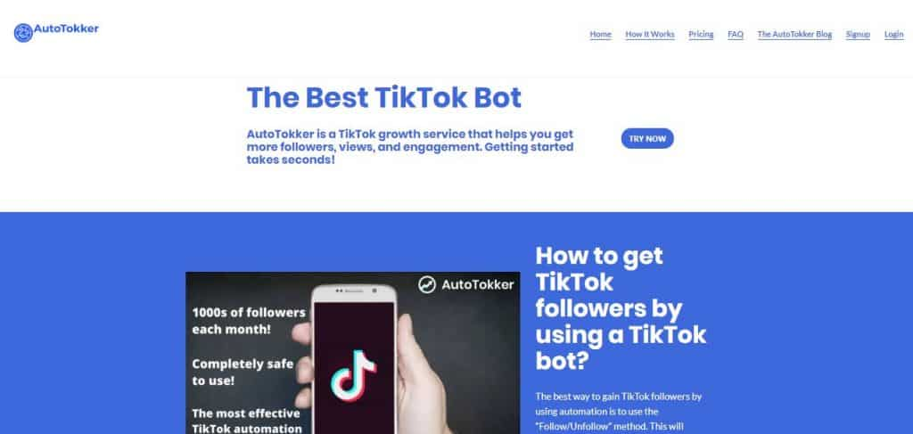 AutoTokker Website