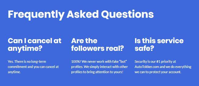 AutoTokker FAQ