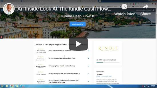 Kindle Cash Flow Course Overview Video